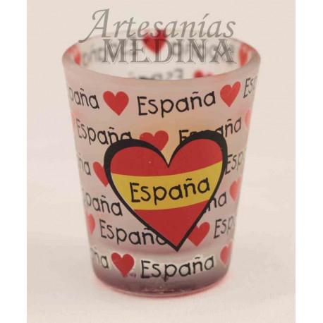 Chupito corazón España